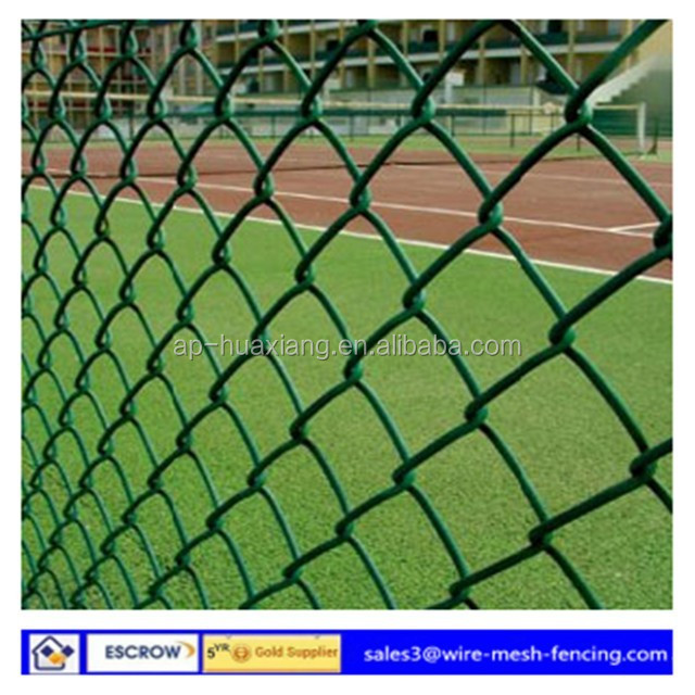 Chain Link Mesh Temporary Fening /chain link fening mesh /pvc chain link fence