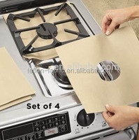 China manufacturer non-sticky heat resistance stove top protector liner mat