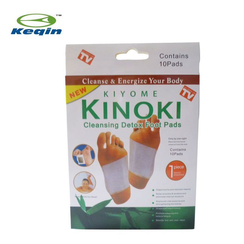 easy use bamboo crystal detox foot patch