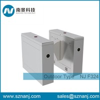 Waist Height Turnstile Automatic retractable flap barrier