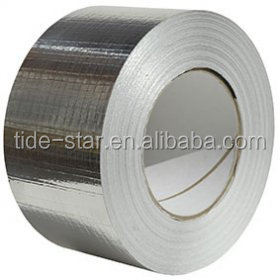 TRIXES Aluminium Foil Tape 75mm X 50m Self Adhesive Heat Reflecting Insulation