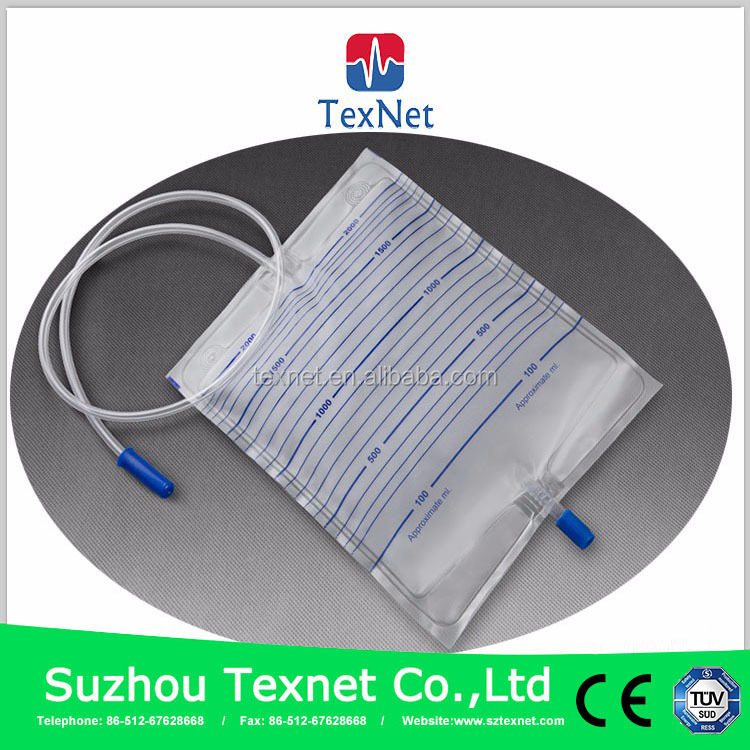 China OEM high quality disposable plastic urine bag