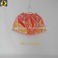 Orange Waterproof Cloth Baby Tutu Skirts for Ballet