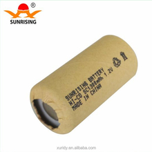 nicd sc 1300mah 1.2v rechargeable battery