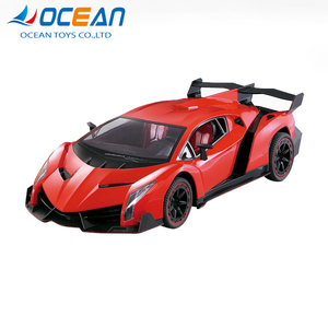 High speed hobby racing model powered 4ch rc car 1/8 scale with light