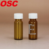wholesale small glass vial 2ml 9-425 glass vial rubber stoppers caps glass ampoules vials available