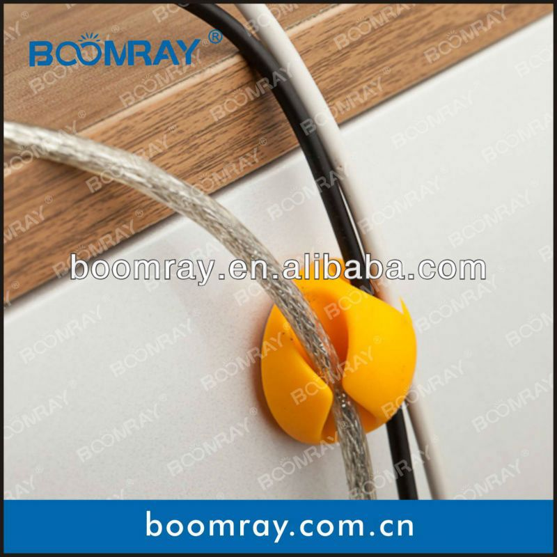 Two Side Cable Clip Cable Drop fiber optic drop cabel (6 in)