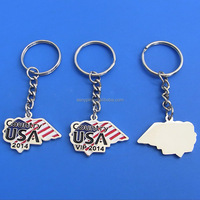 2014 hottest USA ROCK metal key ring fob