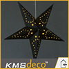 New arrival Led star lights classic black yellow light hanging party lights