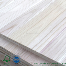 Eco-Friendly natural paulownia pine wooden board
