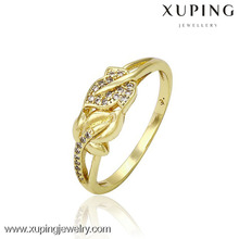 13269-xuping fashion jewelry wholesale 14 k gold rings for women