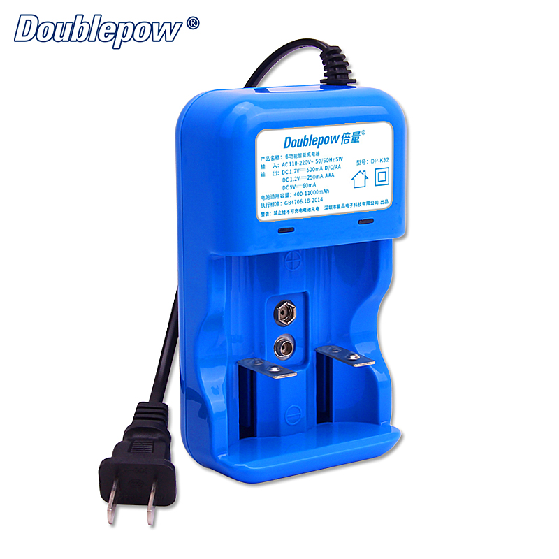 NEW DP-K32 LED Multifunctional Intelligent Rapid Charger for 1.2V AA/AAA/C/D 9V Rechargeable Battery