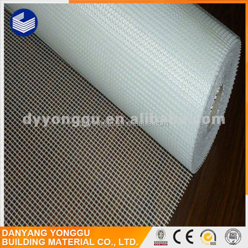 fire proof, sound insulation, 5*5mm/160g fiberglass tissue