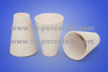 Special Ceramic melting copper crucible fire clay crucible Fire Assay Crucible