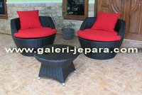 Wicker Synthetic Rattan Sofa - Indonesia Furniture