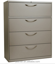 Beige cabinet with four drawers to store tools/file/documents