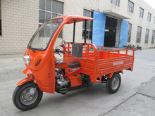 150cc 200cc 250cc closed wagon covered van cargo tricycle with cabin