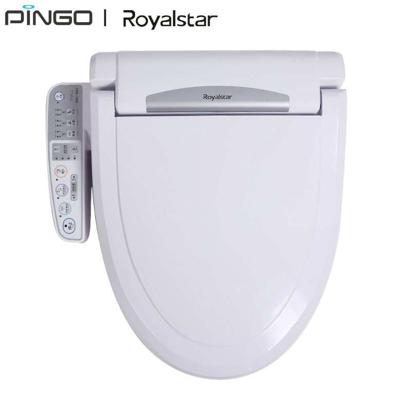 Smart multi function women toilet bidet seat cover