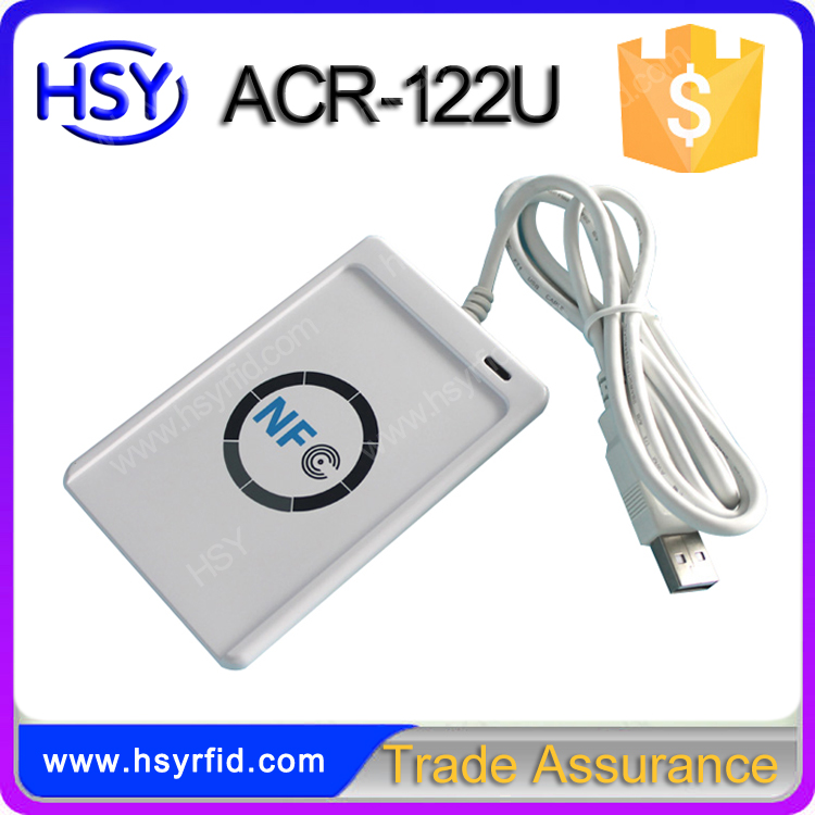 ACR-122U High Quality RFID Card Access Control USB full speed RFID NFC 13.56Mhz Reader and Writer