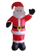 270cmH/9ft Christmas Inflatable Santa claus giant inflatable