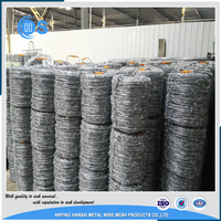China Factory 10kg Barbed Wire Price