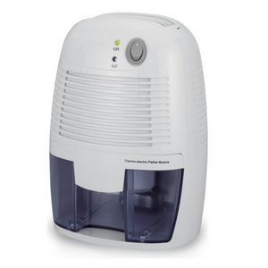 Powerful Small-Size Thermo-Electric Dehumidifier - for Smaller Room, Cupboard, Basement ETD250
