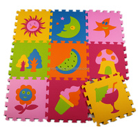 Non-toxic Soft Educational Baby Children Play Puzzle Mats