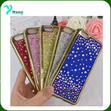 for j3 emerge cell phone jewery Hybrid Glitter Bling case cheap price tpu combo case