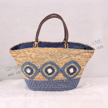 crochet bag straw bag