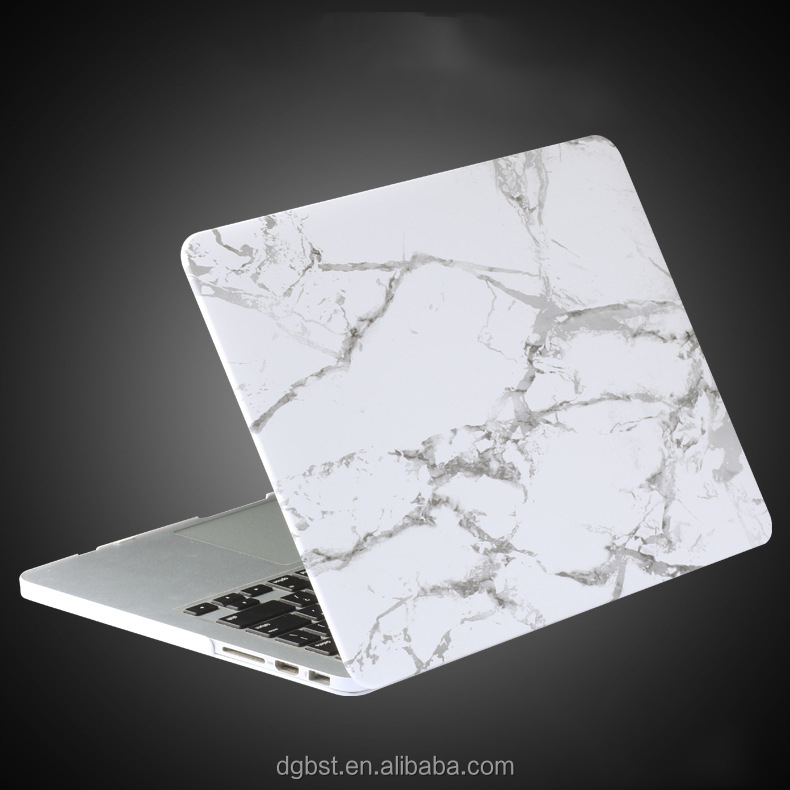 Hot sales white marble for MacBook case cover 12 inch
