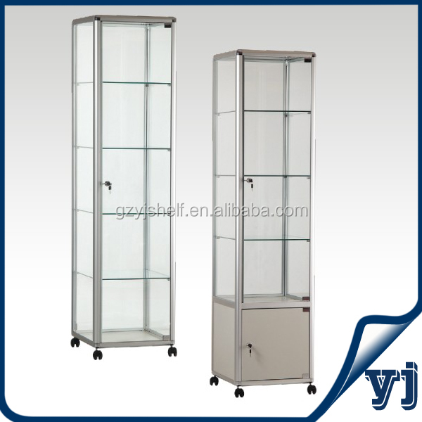 YJ-2000 2014 Modern Model Display Cabinets for Car/Crystal/Earring Display