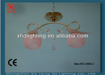 Egypt style purple golden crackel glass ceiling lighting fittings in chandleier for home6486-2