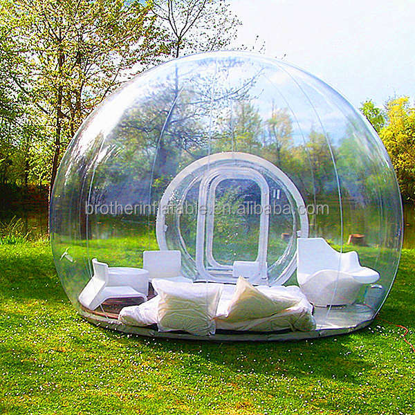 2014 hot sale high quality clear inflatable <strong>tent</strong>