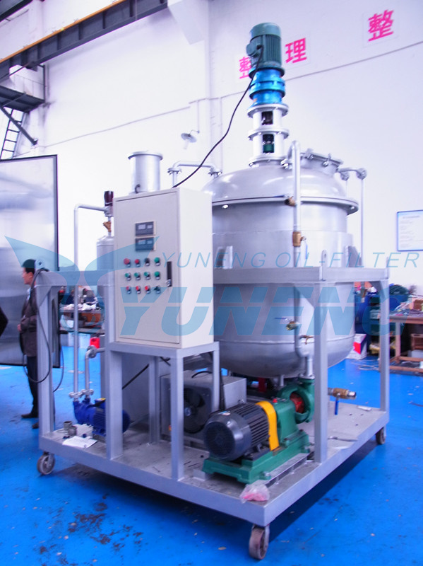 Lube Oil Blending Plant with Additive