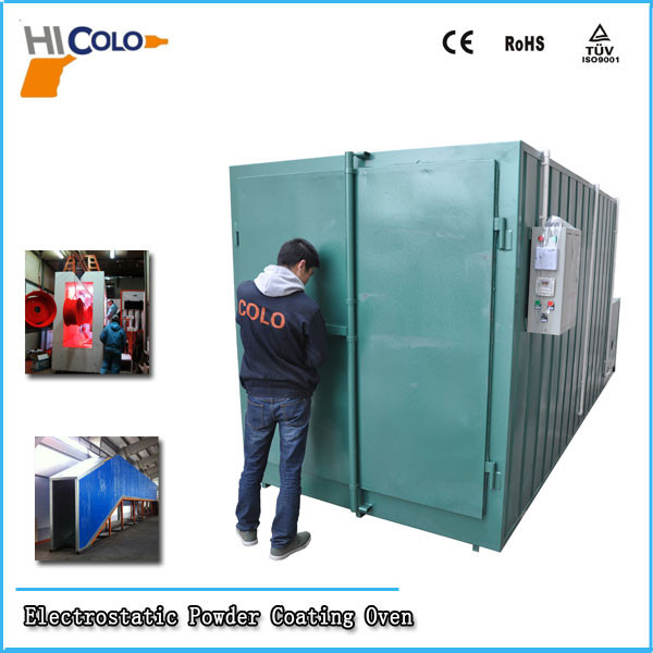 OEM Acceptable Gas Powder Coating Oven Electrostatic Powder Coating Equipment