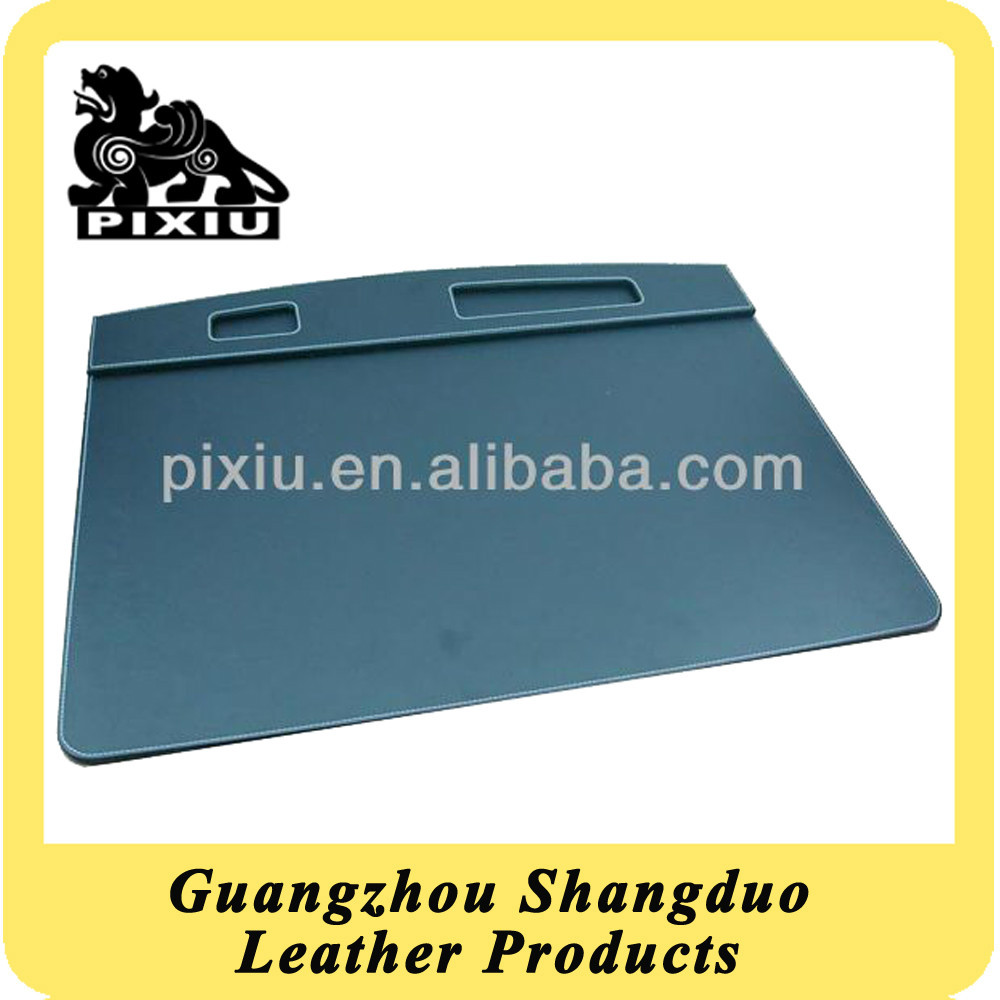 Personalized High Quality Leather Table Pad With Logo Embossed