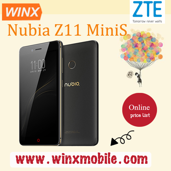 Cheap smartphone ! Original ZTE Nubia Z11 Mini S mobile phone android LTE 4G Android 6.0 4G+64G