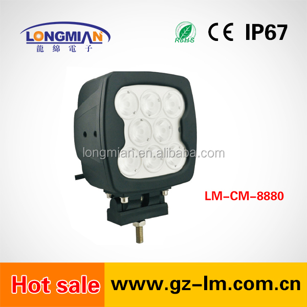 High power 8pcs 6500LM CREES 80W LED work light