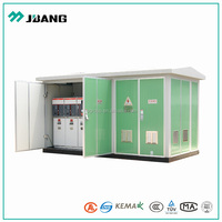 Pad mounted 1000kva 11kv to 0.4kv containerized power distribution substation