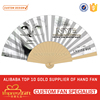 Personalized Decorative Gift Wooden Hand Fan