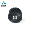 Nylon Bristle Coil Brush Conveyor Cleaning Cylinder Brush