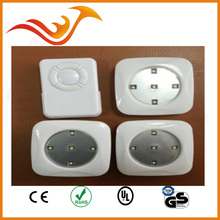 battery operated puck light led cabinet light with wireless remote