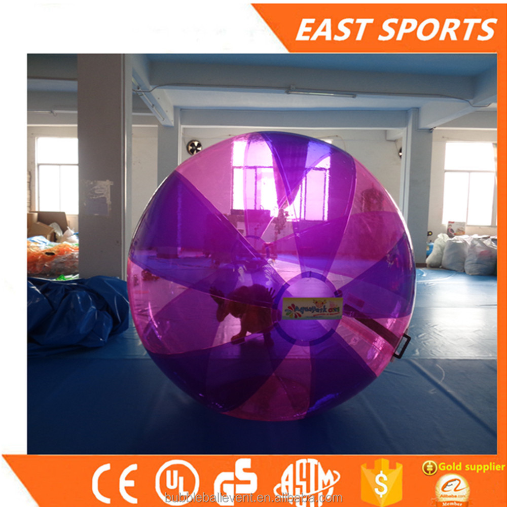 Durable latest rolling ball inflatable water ball roller balloon football