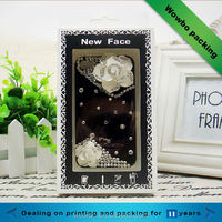 Fashion iphone case packaging box with window