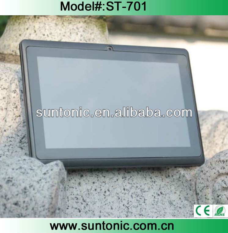 7 inch new tablet pc Q88 RK2926 with HD 1024*600 screen and classic design
