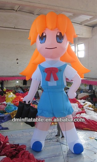 inflatable cartoon /inflatable girl YP-17