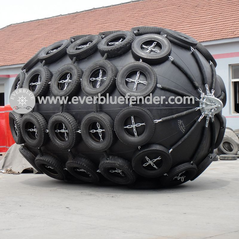50 Kpa Marine ship pneumatic rubber fenders