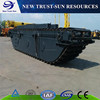 PUC100 Floating Pontoon For Amphibious Excavator