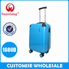 trade assurance supplier,4 aircraft wheels,zipper hard-shell ABS+PC trolley luggage set