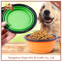 Wholesale Collapsible Supreme Silicone Pet Food Bowl Travel Dog Bowl
